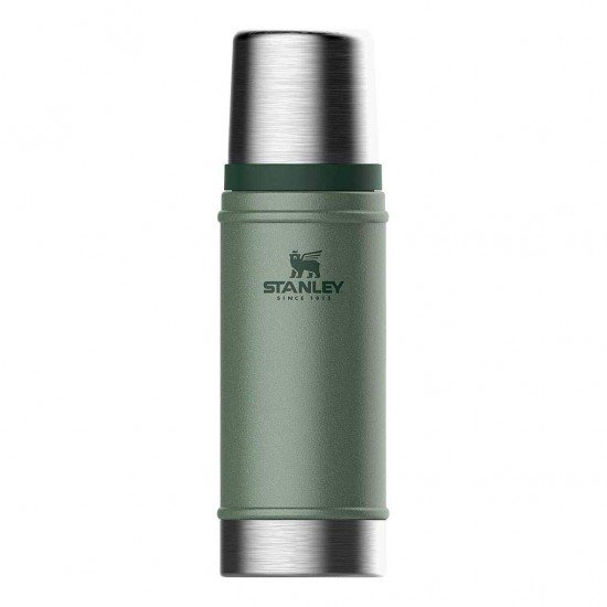 Stanley Bottle Thermo Classic 0,47L Green Hammertone
