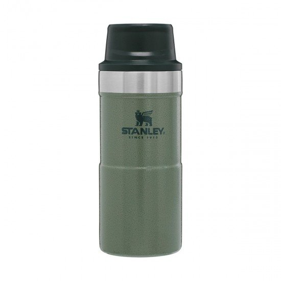 Stanley Classic One Hand Vac  0.35 L Hammertone Green
