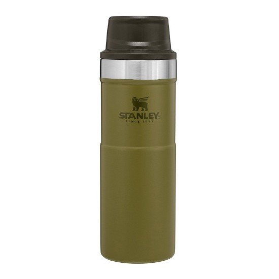 Stanley Classic One Hand Vac  0.47 L Olive
