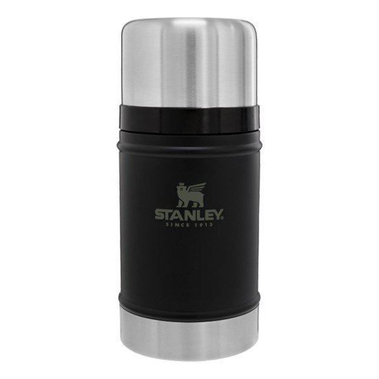 Stanley Thermos for solids and food Classic 0,7L Black Matte