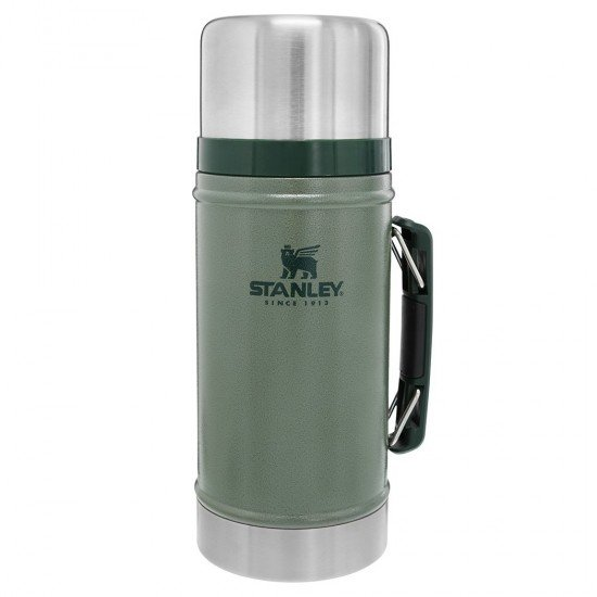 Stanley Thermos for solids and food Classic 0,94L Green Hammertone